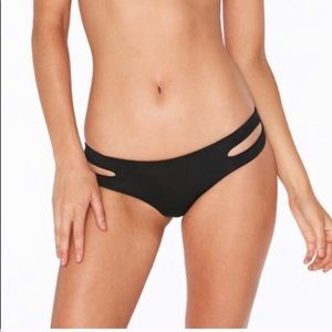 NWT L*space bikini bottoms black Large
